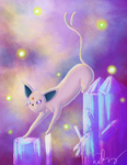 Espeon the Sun Pokemon by SnrChumber