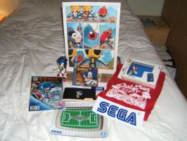 Stuff I got at Summer of Sonic by EUAN-THE-ECHIDHOG