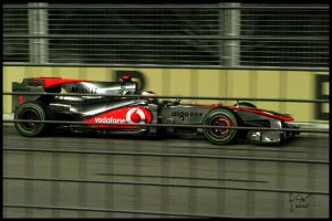 Jenson Button - 2010 Singapore Grand Prix by frag-rock