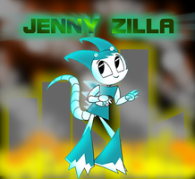 JENNYZILLA by mayozilla