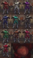 USFIV Seth Psycho Armor 10 color pack by monkeygigabuster
