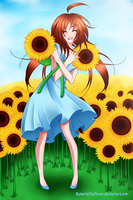 Sunflowers by Nephiam
