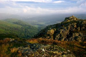 Eskdale from Gate Crag by scotto