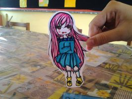 Chiaki Paper Child by AmieeSha96