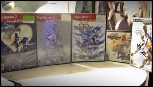 My Kingdom Hearts Collection by roxastuskiomi