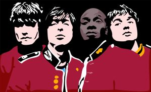 The Libertines Vector by Mnollock