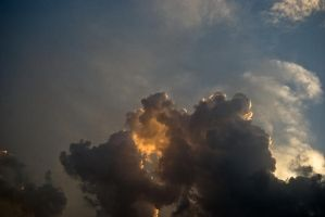 sunset cloud by amka-stock