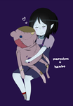 marceline and hambo by Tsumamori