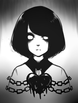 [Fanart] ''The child who wanted to disappear'' by Kupukeki