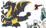 UBs discovered mega evolution by YingYangHeart