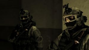 BF3 Russian Ground Forces: Assault/Medic by Solidfreak123