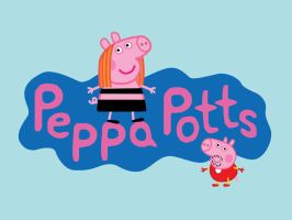 Peppa Potts by mattcantdraw