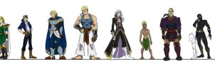FF6 Cast 01 by FF6-Project