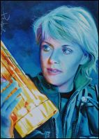 Samantha Carter by DavidDeb