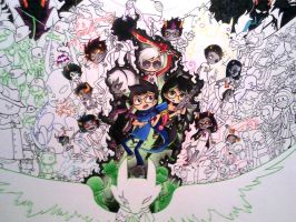 homestuck tribute - w.i.p by Valerei