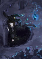 Witch Of The Silent Sea by Rene-Elric