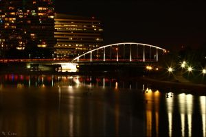 New Bridge in Columbus by piggah