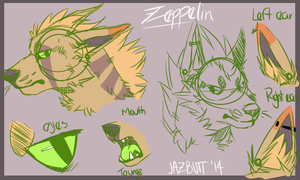 Zep Head Reference by Sharkic-ii
