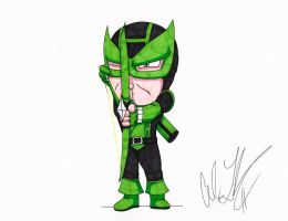 Green Lantern Hawkeye by toonartist