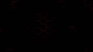Hexagons - Red by achintyagk