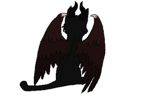 Maleficent Cat *Animated* by Wyeth-Kitty