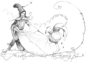 The_Wizard_and_the_Hopping_Pot by somelatevisitor
