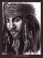 Cap'n Jack Sparrow by jeminabox