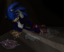 Need You Like A Drug-SonicxAmy by QT-Star