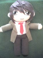 Death Note - Light Plushie by VioletLunchell