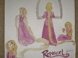 Repunzel by The-Lighted-Soul