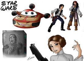Disney Star Wars by taresh