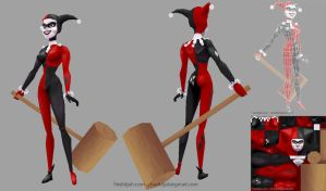 Low-Poly Harley by hadidjah