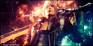 Tag Devil May Cry - gift to CadePapai- by BrunaDM