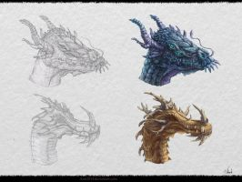 Dragon`s Design #2 by Azot2015