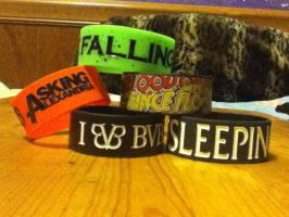 My Bracelets. by LivLuvDie