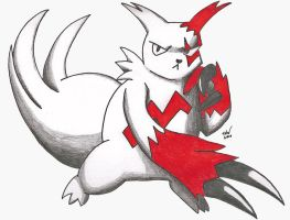 Zangoose 2010 by GekkouKitsune