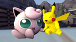 Pikachu X Jigglypuff by Clawort-Animations