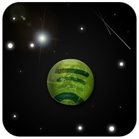 Spotify Planet by xeloader