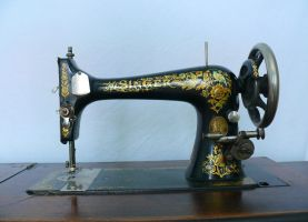 1901 Sewing Machine II by monqy88