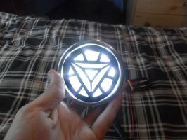 Ark reactor for my new iron man suit lit by firebapx