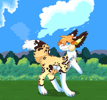 MS Paint: Late Summer Day by owlity