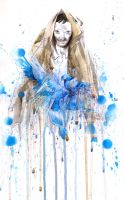 blue color by lora-zombie
