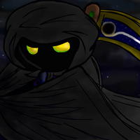 The mysterious cloaked one by RubyHalogenknight
