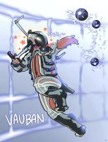 Warframe vauban by lotushim554