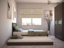 TEENAGE'S BEDROOM, THAMRIN by TANKQ77