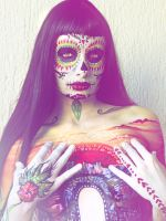 Body Art The Day of the Dead by NatashaKudashkina
