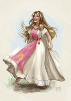 Princess Zelda from a Link Between Worlds by 2MindsStudio