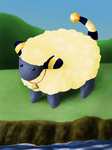 Mareep by Arbre