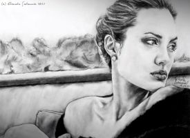 Angelina Jolie by mary11dc