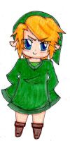 Another chibi Link by MasterShortPantz